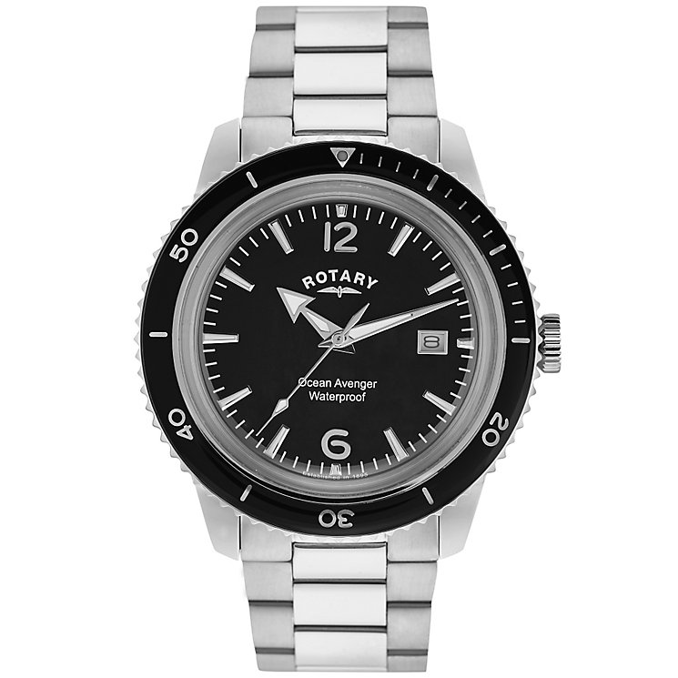 Rotary Ocean Avenger men's stainless steel bracelet watch - Product number 2866811