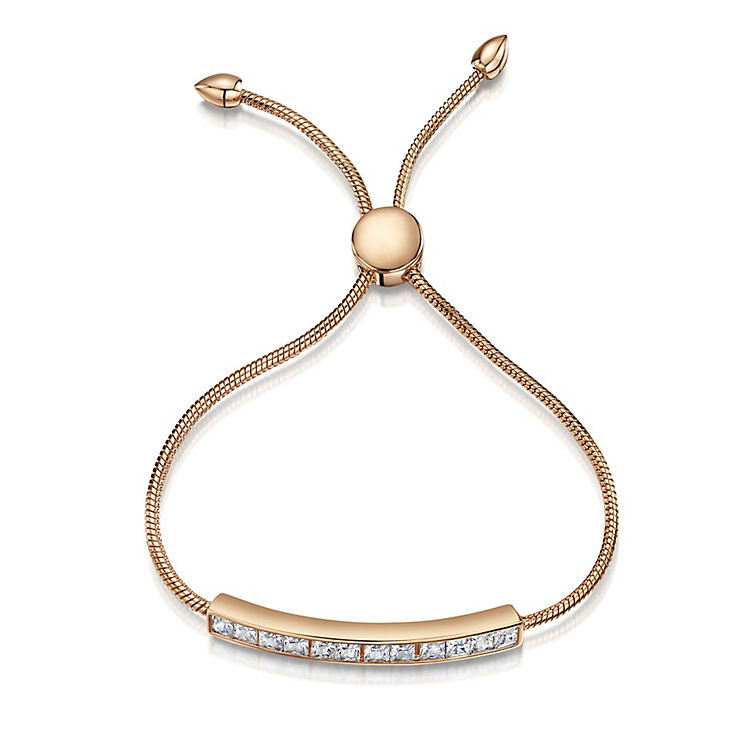 Buckley Rose Gold Plated Crystal Friendship Bracelet - Product number 2868598