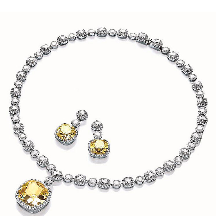 Attwood & Sawyer By Buckley Glamorous Earring & Necklace Set - Product number 2868644