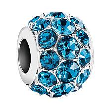 Chamilia Splendor sterling silver indicolite bead - Product number 2872587