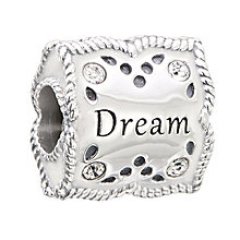 Chamilia Dream Big sterling silver Swarovski elements bead - Product number 2872714