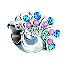 Chamilia Beautiful Peacock sterling silver charm - Product number 2872730