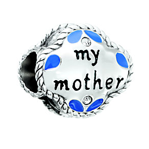Chamilia Silver & Swarovski Crystal My Mother My Friend Bead - Product number 2873702