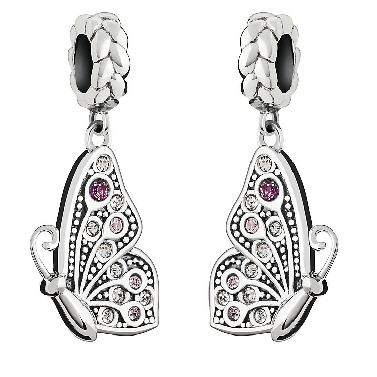 Chamilia Swarovski Crystal Best Friends Butterfly Charm Set - Product number 2873931