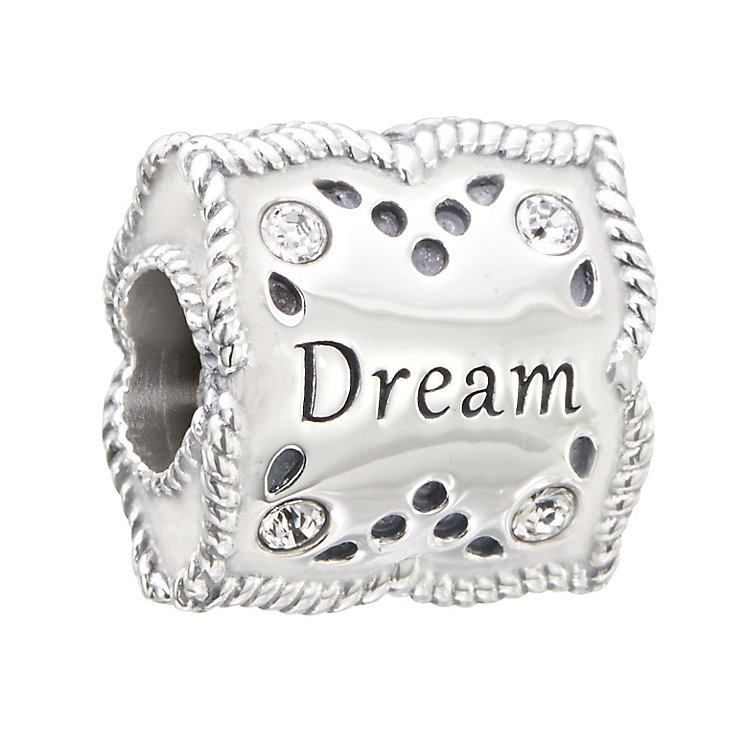 Chamilia Silver & Swarovski Crystal Dream & Inspire Bead - Product number 2873990