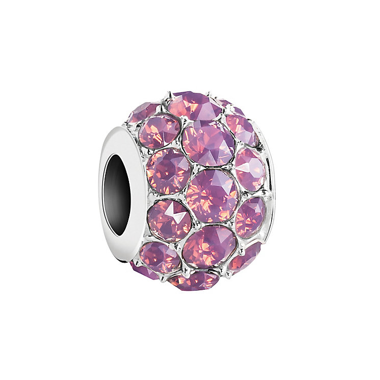 Chamilia Cyclamen Opal Swarovski Crystal Splendor Bead - Product number 2874245
