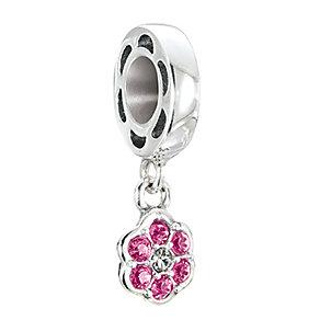 Chamilia Petites Rosette light rose Swarovski elements bead - Product number 2874261