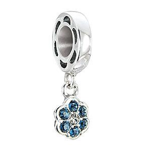 Chamilia Petites Rosette Montana Swarovski elements bead - Product number 2874296