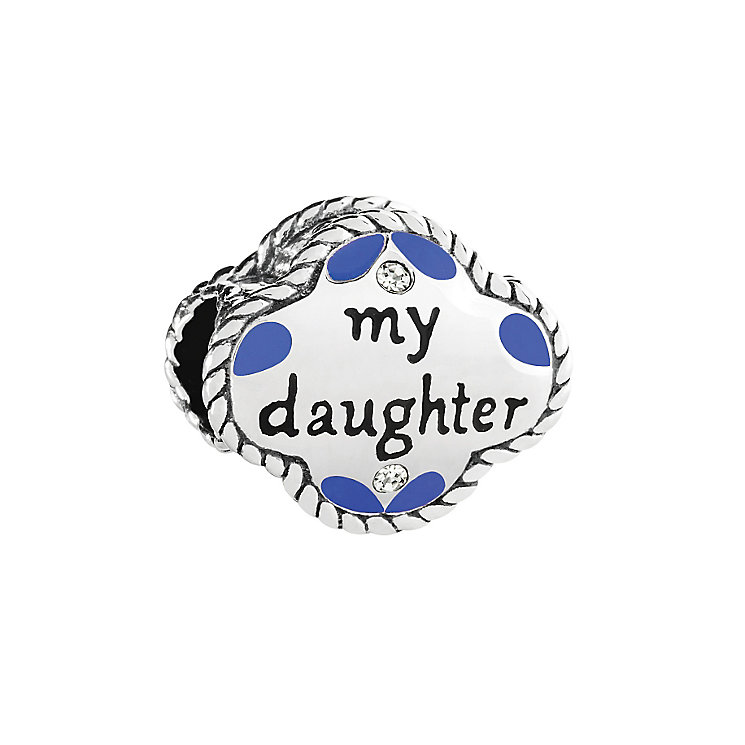 Chamilia Swarovski Crystal My Daughter My Friend Bead - Product number 2874520