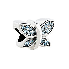 Chamilia sterling silver Disney Cinderella Butterfly charm - Product number 2876043