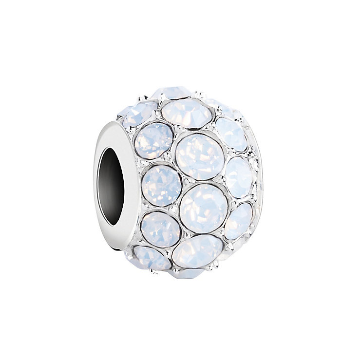 Chamilia Silver & White Opal Swarovski Crystal Splendor Bead - Product number 2876086