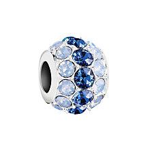 Chamilia Silver & Swarovski Crystal Splendor Bead - Product number 2876108