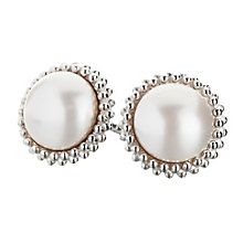 Chamilia sterling silver and Swarovski pearl earrings - Product number 2876205