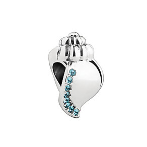 Chamilia Silver & Blue Swarovski Crystal Ocean Sounds Bead - Product number 2876493