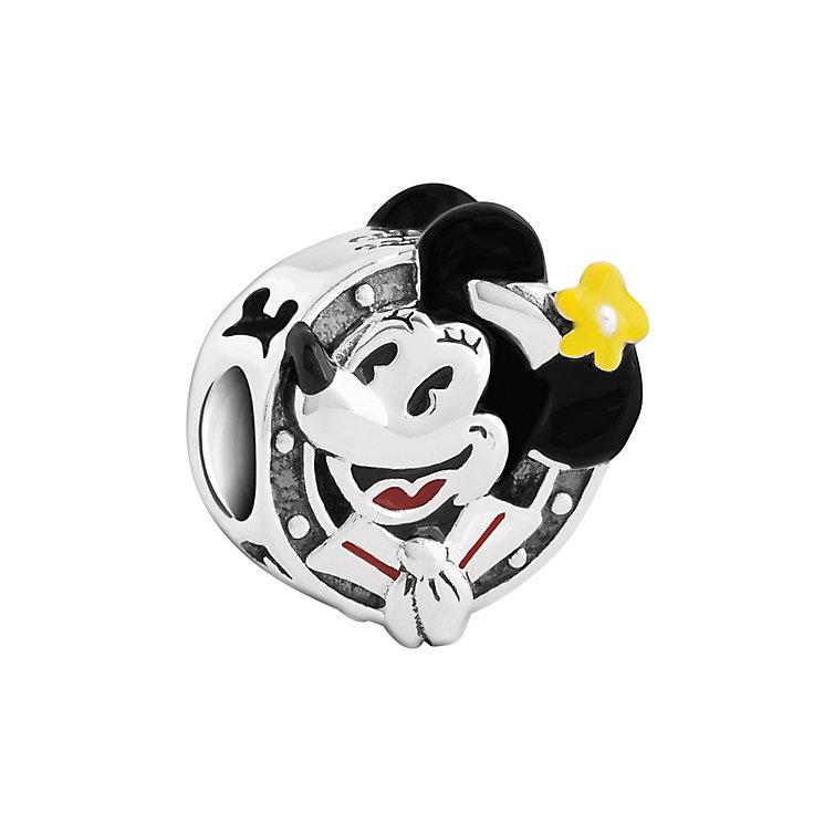Chamilia Silver & Enamel Porthole Minnie Disney Bead - Product number 2876701