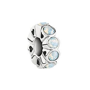 Chamilia Silver & White Opal Swarovski Crystal Whimsy Bead - Product number 2876892