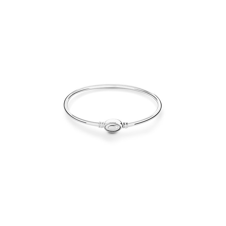 Chamilia high polish sterling silver Iconic Bangle medium - Product number 2876949