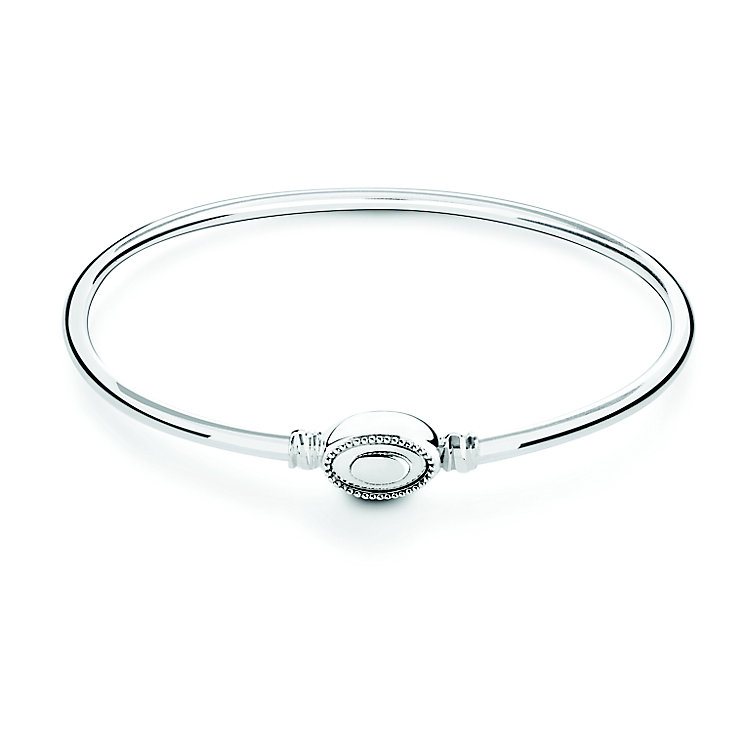 Chamilia Iconic sterling silver polished bangle medium - Product number 2877007