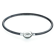 Chamilia Iconic sterling silver textured bangle small - Product number 2877015