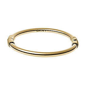 DKNY Stanhope Yellow Gold Tone Stainless Steel Magnet Bangle - Product number 2877074