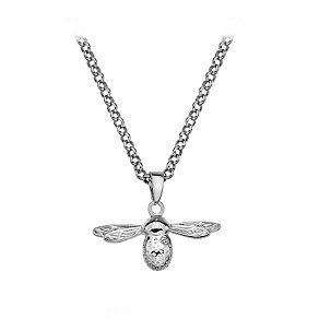 Hot Diamonds Sterling Silver Diamond Paradise Bee Pendant - Product number 2877333