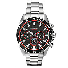 Sekonda Men's Chronograph Stainless Steel Bracelet Watch - Product number 2879611
