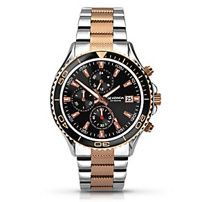 Sekonda Men's Rose Gold Plated Bracelet Watch - Product number 2880091