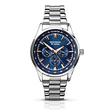 Sekonda Men's Blue Dial Stainless Steel Bracelet Watch - Product number 2881144