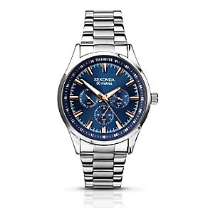 Sekonda Men's Chronograph Blue Dial Bracelet Watch - Product number 2881144