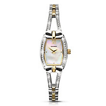 Sekonda Ladies' Chrome Coloured Stone Set Watch - Product number 2881187