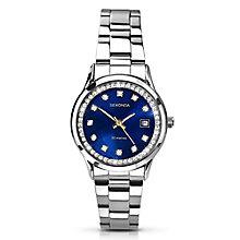 Sekonda Ladies' Stainless Steel Black Dial Watch - Product number 2881209