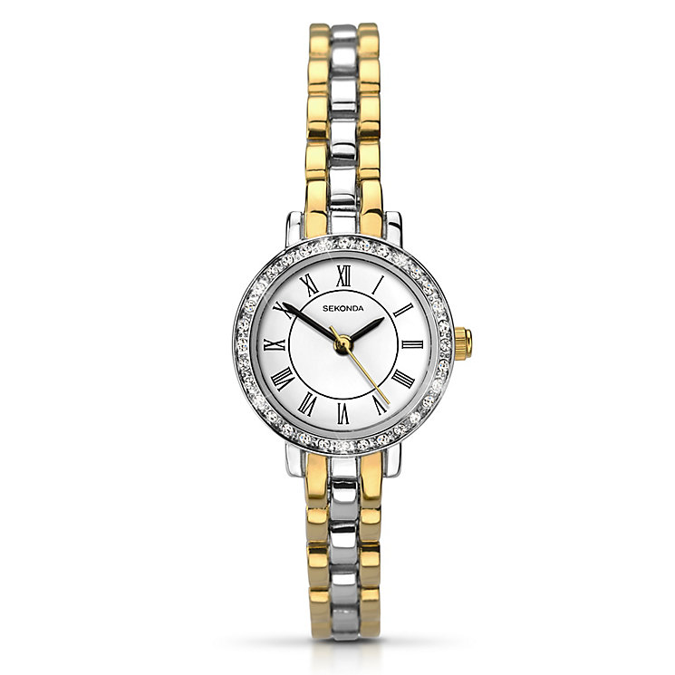 Sekonda Ladies' Two Tone Bracelet Watch - Product number 2881233