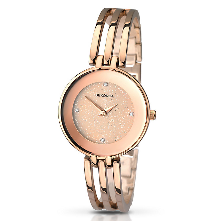 Sekonda Editions Ladies' Rose Gold-Plated Bracelet Watch - Product number 2882159