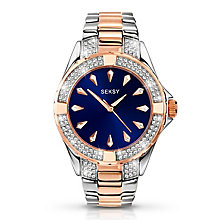 Seksy Ladies' Intense Swarovski Crystal Watch - Product number 2882299