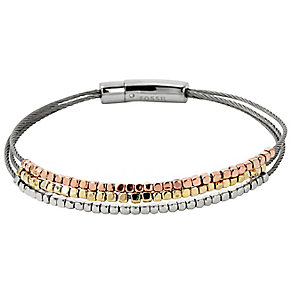 Fossil 3 Colour Nugget Bracelet - Product number 2882523