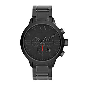 Armani Exchange Men's Black Ion Plated Bracelet Watch - Product number 2891972