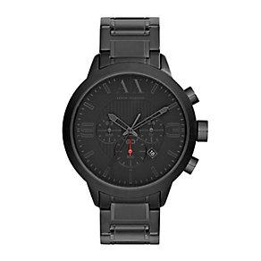 Armani Exchange Men's Black Ion Plated Bracelet Watch - Product number 2891972