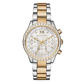Michael Kors ladies' two colour bracelet watch - Product number 2896001