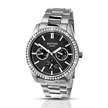 Sekonda Ladies' Stainless Steel & Crystal Bracelet Watch - Product number 2901838