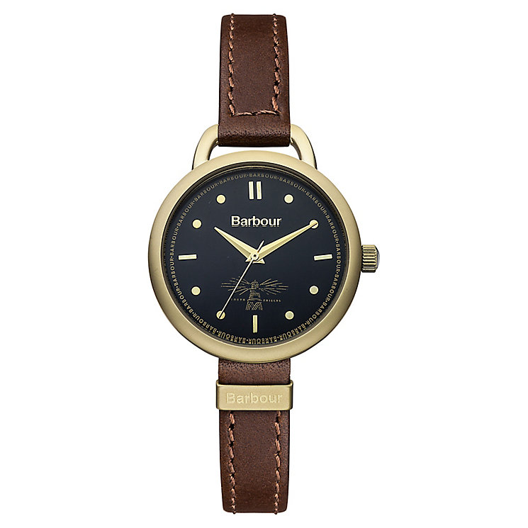 Barbour Finlay ladies' gold-plated strap watch - Product number 2901900