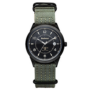Barbour Redley men's ion plated strap watch - Product number 2901943