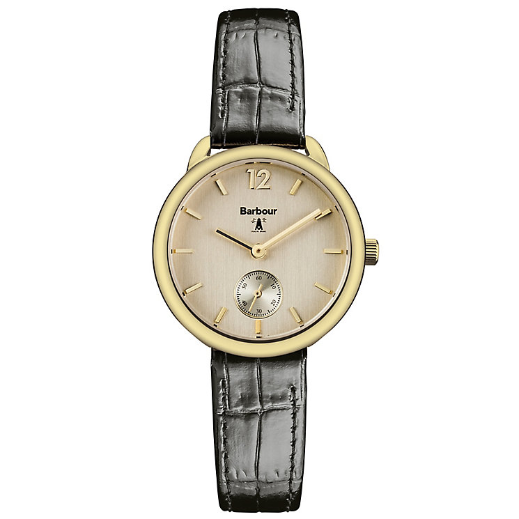 Barbour Whitley ladies' gold-plated strap watch - Product number 2902095