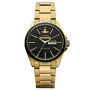 Vivienne Westwood Camden men's gold-plated bracelet watch - Product number 2902273