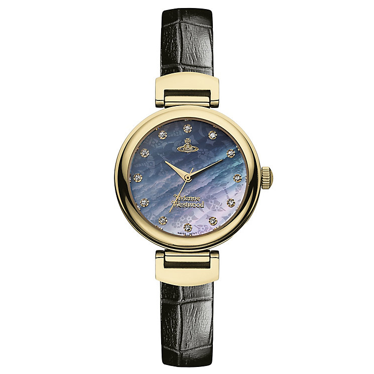 Vivienne Westwood Hampton ladies' gold-plated strap watch - Product number 2902362