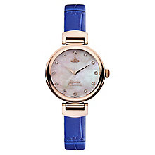 Vivienne Westwood Hampton ladies' gold-plated strap watch - Product number 2902389