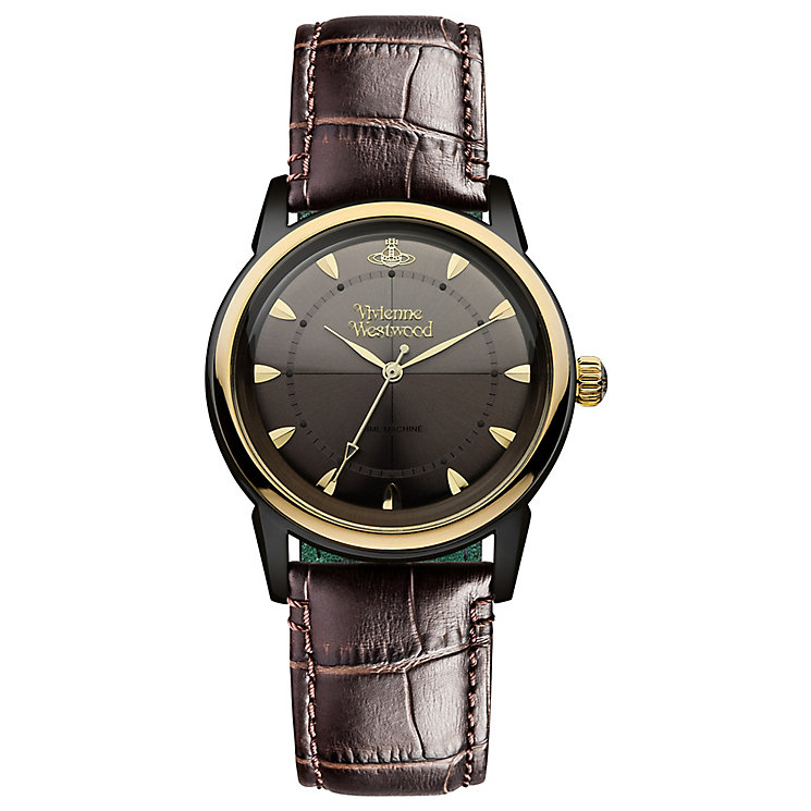 Vivienne Westwood Grosvenor men's strap watch - Product number 2902427