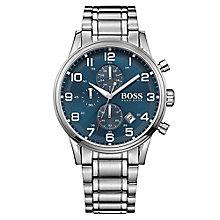 Hugo Boss men's stainless steel chronograph bracelet watch - Product number 2902605