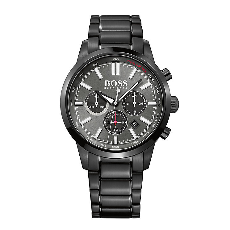 Hugo Boss men's ion-plated bracelet watch - Product number 2903121