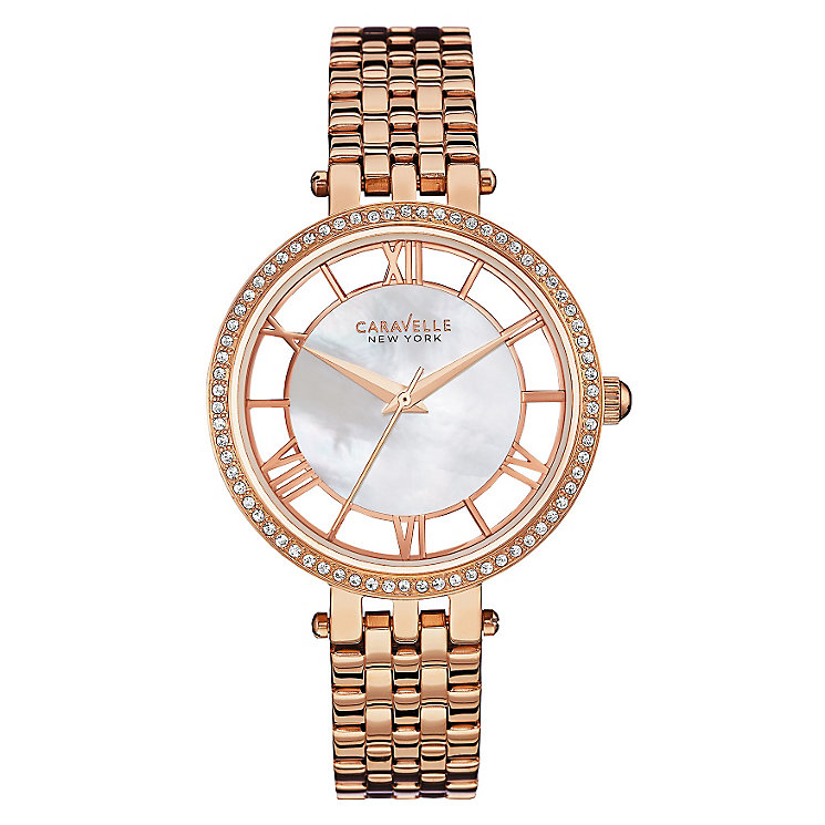 Caravelle New York Ladies' Mother of Pearl Watch - Product number 2905140