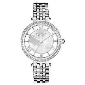 Caravelle New York Ladies' Steel Mother of Pearl Watch - Product number 2905175